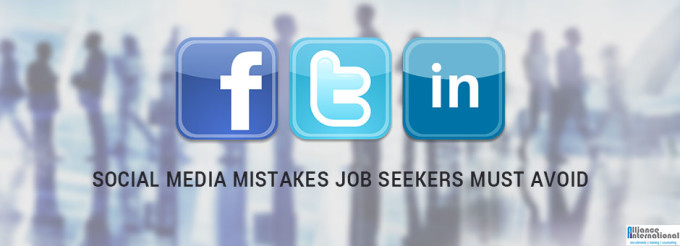 Social Media Mistakes By Job Seekers