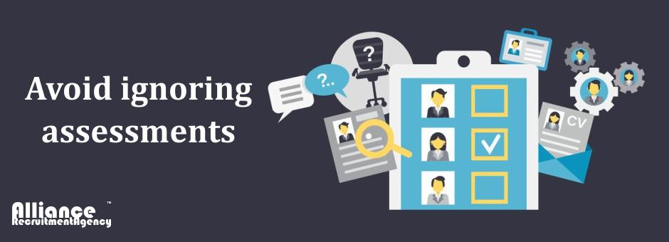 avoid ignoring assessments